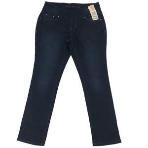 JAG JEANS 16W Dark Wash High Rise Slim Leg Jeans